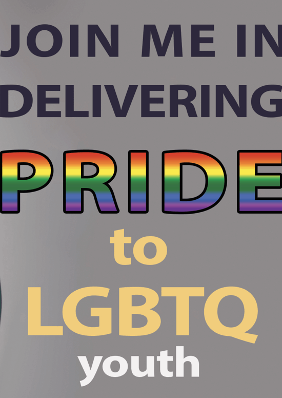 Join Me To Help Empower LGBTQ Kids